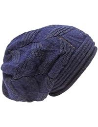 Kandharis Damen Strickmütze Wintermütze Long Beanie in verschiedenen Farben