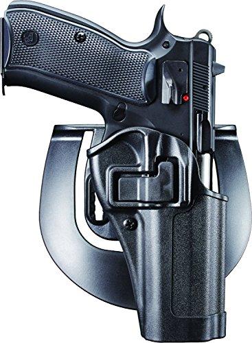 BlackHawk! SERPA CQC Concealment Holster - Mattes Finish, unisex, 410562BK-R, Schwarz, Size 62 - EAA Witness/T(A)95, CZ 75/75 SP01/85 (Airsoft Gun Holster)