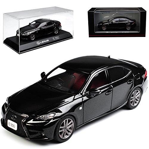 Kyosho Lexus is XE3 350 F-Sport Limousine Starlight Schwarz 3. Generation Ab 2013 1/43 Modell Auto (2014 Lexus F Sport)
