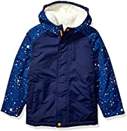 Marca Amazon - Spotted Zebra Warm Puffer Coat Niños