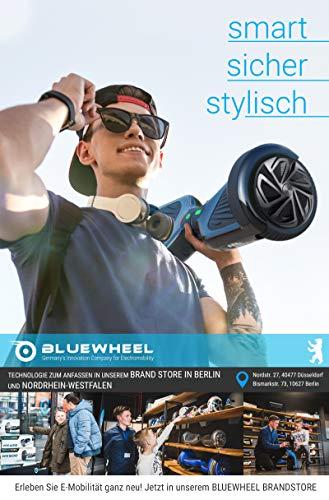 Testsieger 6.5″ Hoverboard Bluewheel HX320 mit UL2272 Sicherheitsstandard – Kinder Sicherheitsmodus mit App – Bluetooth Lautsprecher – 700W Motor – LED – Elektro Scooter Self-Balance E-Skateboard - 3