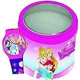 diakakis 0561145licencia Princesas Disney reloj para la niña plástico rosa 7x 7x 7cm)