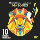 Mes tableaux en stickers - Masques