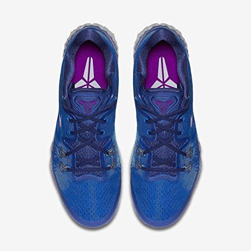 Nike Zoom Kobe Venomenon 5, Chaussures de Sport-Basketball Homme Multicolore - Azul / Morado / Gris (Sr / Vvd Prpl-Dp Ryl Bl-Wlf Gry)