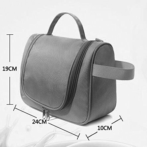 % @ HUAZHUNG - Cosmetic Bag di grande capienza portatile donne della Corea Travel Bag Wash grande borsa Cosmetic Bag A