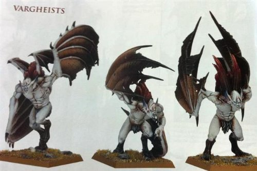 GW Warhammer Fantasy Vargheists / Gruftschrecken der Vampirfürsten
