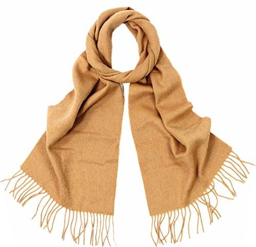 GFM -  Sciarpa  - Uomo Wool 100% (#Y20CHMD) - Tan M