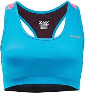 Zoot Damen Top Performance Run Swift Bra, atomic blue, L, 2631263.1.1.L