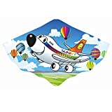 Kinderdrache Flugzeug Sunny 76x51cm Drache Flugdrache Spieldrache bunt PE-Folie Einleiner