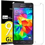 Panzerglas Samsung Galaxy Grand Prime (G530), NEWC® HD Display 9H Härte, Frei von Kratzern Fingabdrücken und Öl, 0.33mm Ultra-klar, panzerglas schutzfolie für Samsung Grand Prime