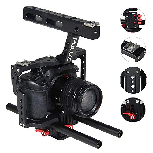 TLgf Handheld Camera Stabilizer Professional Fotogeräte, für Sony Panasonic Lumix DMC-GH4 Digitale Spiegelreflexkameras