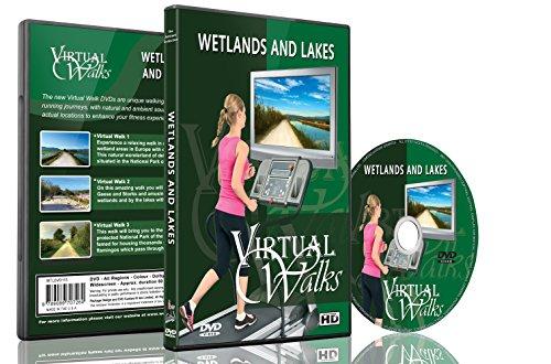 Virtuelle Spaziergänge - Feuchtgebiete und Seen Laufband und Radfahren