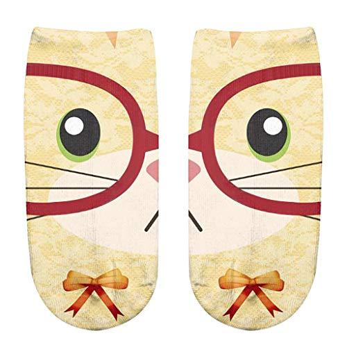 XuxMim Bunte Tie Dye Compression Socks Fußball Socken -