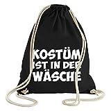 ShirtWorld - Kostüm ist in der Wäsche - Gym Bag Schwarz