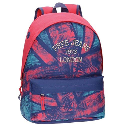 Pepe Jeans 65323A1 Anette Mochila Escolar, 42 cm, 22.79 Litros, Multicolor
