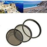Profox Set complet de filtre 62 mm avec filtre UV MC/ filtre polarisant circulaire/ filtre gris ND8 pour appareil photo numérique type Tamron AF 28-300mm XR DI VC/ AF 70-300mm DI LD / AF 18-200mm XR DI II