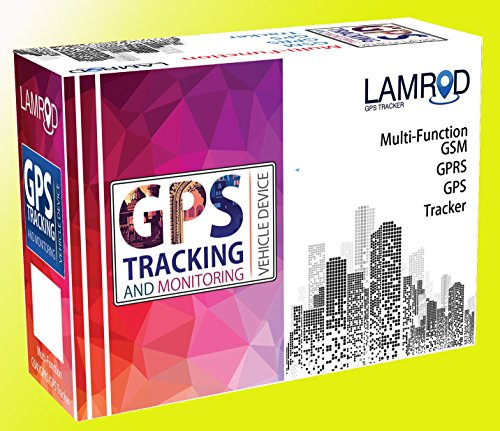 LAMROD GPS Tracker ULTRA GT02A Real-time Vehicle Car/ Bike tracking