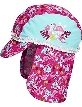 Playshoes UV-Schutz Bademütze, Badekappe Flamingo, Sombrero para Niñas
