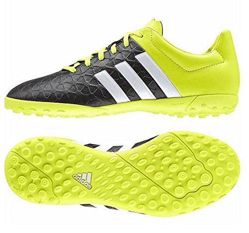 Adidas aCE 15.4TF J–Bottes pour enfant Noir