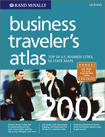 Business Traveler's Atlas: Top 30 U.S. Business Cities, 50 State Maps