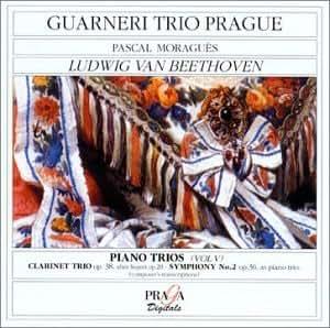 Trio pour piano, clarinette & violoncelle op.38