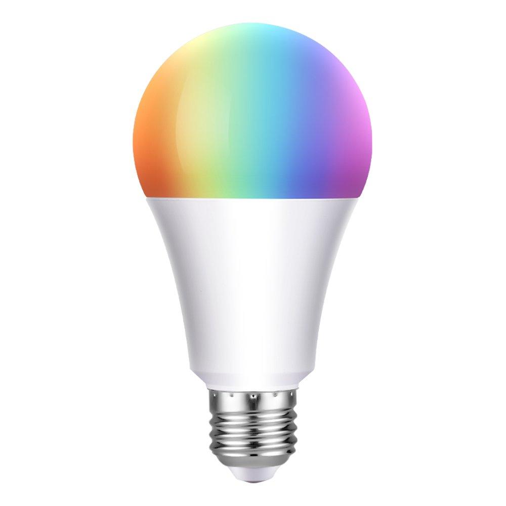 Smart LED Lampe, bunte Wlan Birne(7W, E27), Smart Home Lampe, 650LM ...