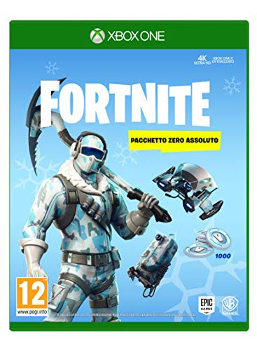 Fortnite: Absolute Zero Package - Xbox One [Código digital en el paquete]