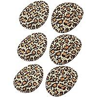 sourcingmap® 3 Paare Schwarz Braun Leopard Muster Hoch Ferse Schuhe vorne Pads Kissen preisvergleich bei billige-tabletten.eu