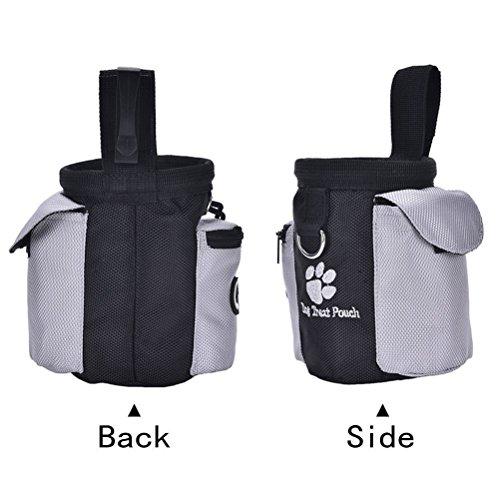b0a91b398aea Dog Training Bag, Focuspet Pet Handsfree Training Treat Waist Pouch ...