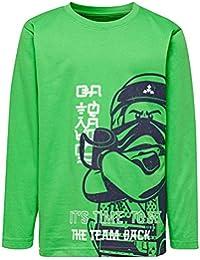 011e7a34d Amazon.es  Verde - Camisetas de manga larga   Camisetas