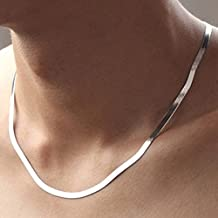 43dfe10c141a supaen Wholesale - Collar de cadena de serpiente de 4 mm