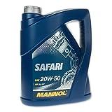 MANNOL Safari 20W-50 API SL/CF Motorenöl, 5 Liter