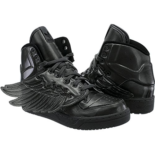 adidas JS Wings Molded, Donna Black/Black/Black