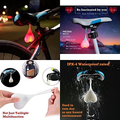 Bike Bälle Bike Rücklichter, 2018New (Fahrrad Lights) UK (bunt (7-color Wickeltasche))