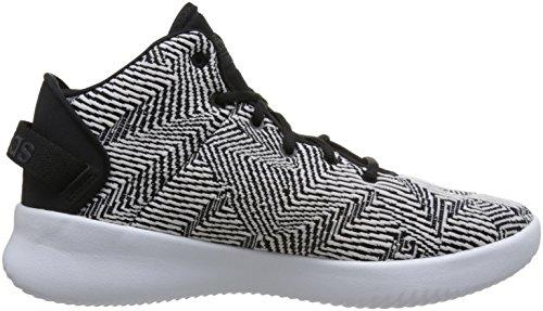 adidas CF Refresh Mid, Chaussures de Gymnastique Homme Noir (Core Black/carbon S18/ftwr White Core Black/carbon S18/ftwr White)