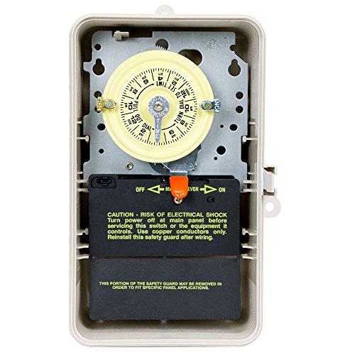 Intermatic t104p3208-277Volt DPST Mechanischer 24-Stunden Zeit Schalter - Dpst-timer