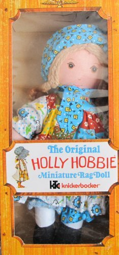 knickerbocker-the-original-holly-hobbie-miniature-rag-doll-8-tall-1976-by-the-original-holly-hobbie-