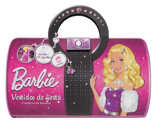 Barbie vestidos de fiesta / Barbie party dresses: Cuadernos de bocetos / Drafts Book