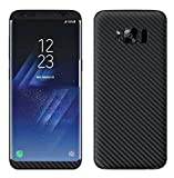 #5: VcareGadGets Samsung Galaxy S8 Plus Black Carbon Skin For Back Only