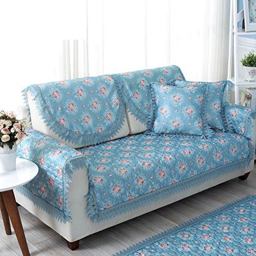 asciugamano divano da giardino/ divano/Anti-slip pizzo divano cuscino-C 40x40cm(16x16inch)