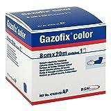 GAZOFIX color Fixierbinde 8 cmx20 m blau 1 St Binden