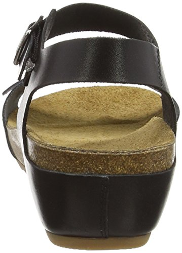 Hush Puppies - Tease Soothe, Sandali Donna Nero (Black)