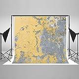 KateHome PHOTOSTUDIOS 3x3m Argile Vieux Vintage Photographie Fond Microfiber Abstrait Or Gris Photo Accessoires Carte Moderne Individuel Toile de Fond Tissu