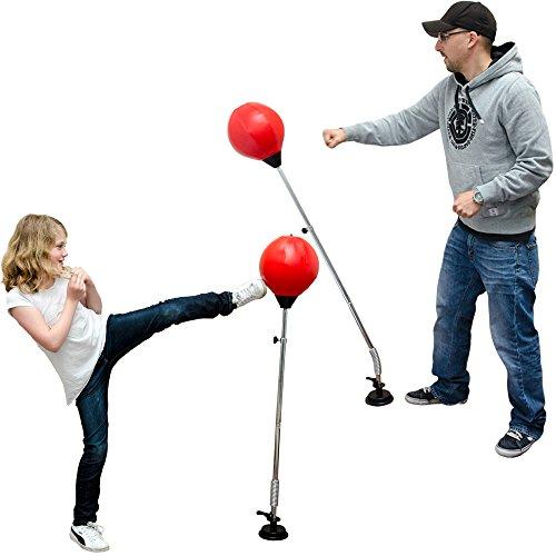 Punching Stand inkl. Punchingball 150 cm Saugfuß YU-018 Höhenverstellbar