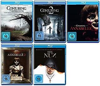Conjuring Teil 1+2 + Annabelle Teil 1+2 + The Nun [Blu-ray Set] 5 Filme