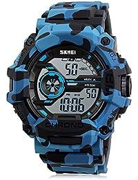 Bozlun - Reloj para niños/adolescentes deportivo (digital, para deporte, con cronómetro