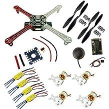 Hobby-Fun DIY F450 Quadcopter Kit & APM2.8 FC vs NEO-6M GPS XXD 1000KV motor 30A ESC