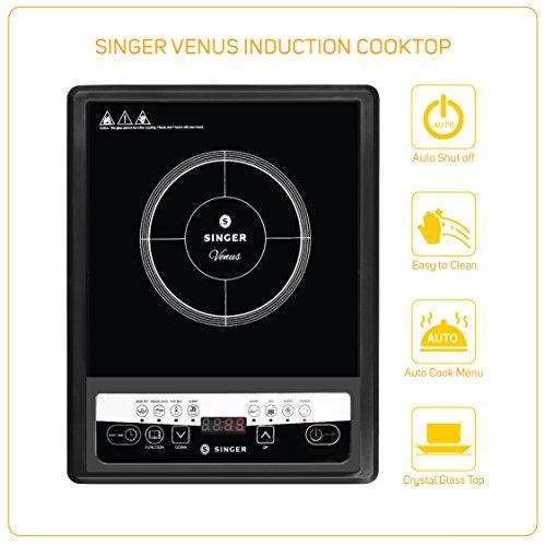 Singer-Venus-1400-Watt-Induction-Cooktop-Black
