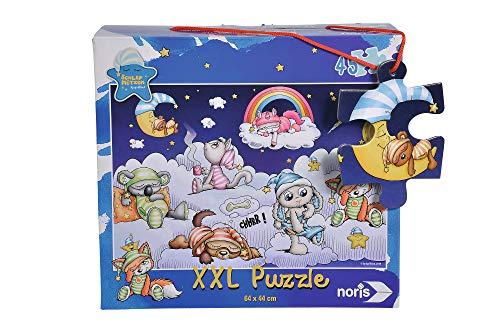 Noris 606031727 XXL Riesenpuzzle Schlafmützen, 45-teilig