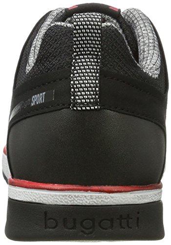 bugatti Herren 322307015459 Sneaker Schwarz (Black / Black) OEFqoVlW